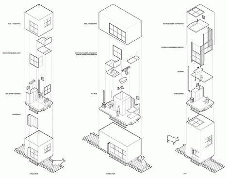 architectural 3d diagrams