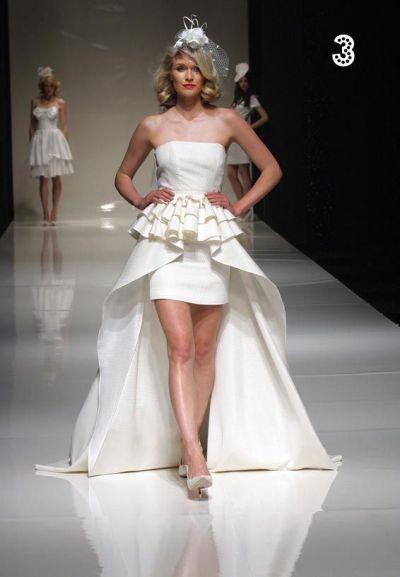 a la Stephanie Seymour wedding dress from video