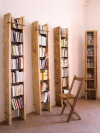 tall bookshelves for small spaces- perfect for the old ...