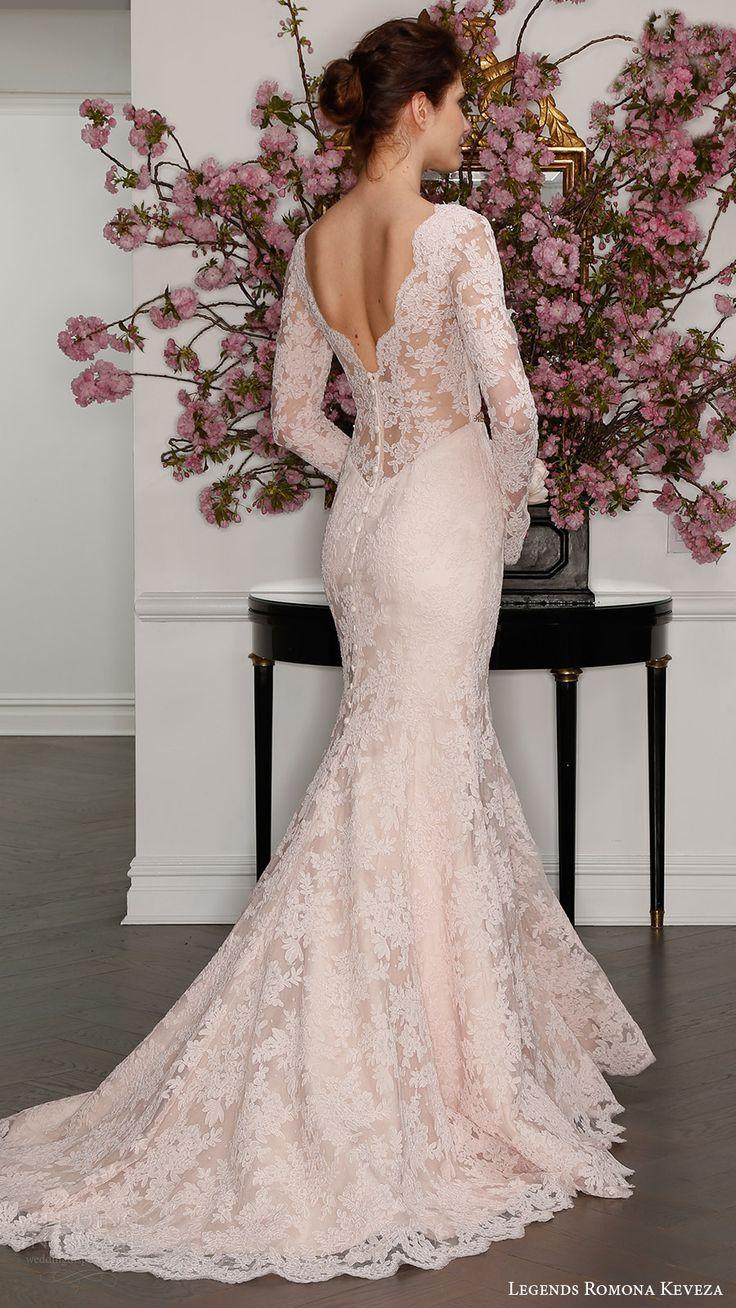 blush wedding dresses wedding dresses with color Legends Romona Keveza Spring Wedding Dresses