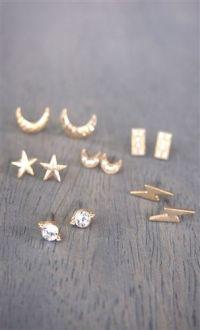 25+ best ideas about Multiple ear piercings on Pinterest ...