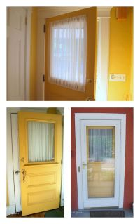 25+ best ideas about Door window treatments on Pinterest ...