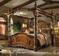 Four Poster Canopy Bed King - WoodWorking Projects & Plans