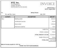construction+company+invoice+examples | Paying Retail ...
