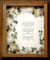 17 Best images about Wedding invitations framed keepsake ...