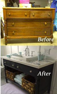 25+ best ideas about Dresser bathroom vanities on ...
