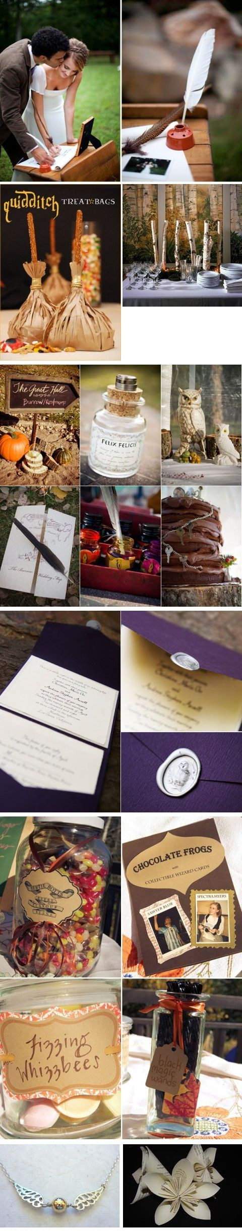 harry potter engagement harry potter wedding bands Harry Potter Wedding Wedding Ideas Top Wedding Blog s Wedding Trends David