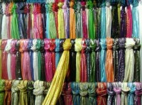 easy way to organize scarves | Organizing | Pinterest ...
