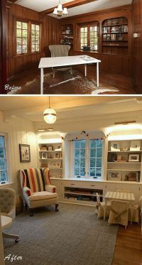 25+ best ideas about Wood Paneling Makeover on Pinterest