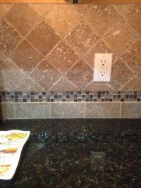 Best 25+ Travertine tile backsplash ideas on Pinterest ...