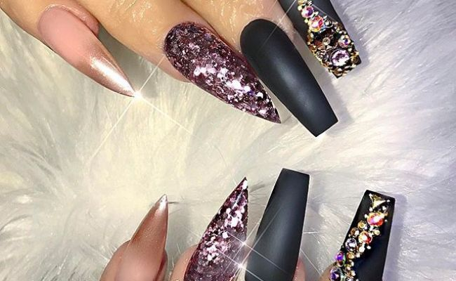 25 Best Ideas About Different Nail Shapes On Pinterest Different Shapes Of Nails Acrylic