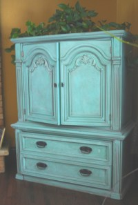 17 Best ideas about Distressed Turquoise Furniture on ...