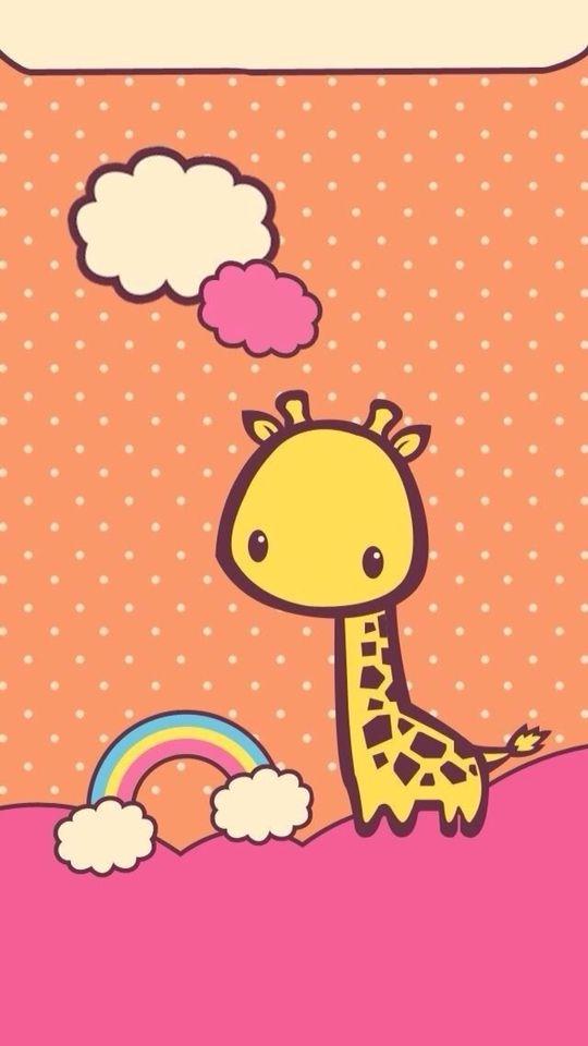 Cute Girly Ipad Wallpapers Kawaii Jirafa Pack De Wallpaper ️ Pinterest Kawaii