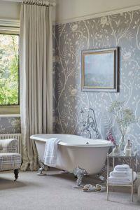 1000+ ideas about Bathroom Wallpaper on Pinterest ...