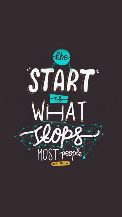 Start Is What Stops People Apple iPhone 5s HD Wallpapers. Motivational quotes iPhone wallpapers ...