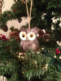 17 Best images about Owl Christmas decoration on Pinterest ...