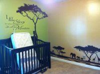Beautiful Lion King / African themed nursery/kids room. So ...