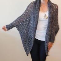 17 Best images about Crocheted shawls, ponchos on ...