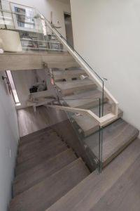 Best 25+ Glass stair railing ideas on Pinterest   Glass ...