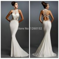 17 Best images about Elegant White Dresses on Pinterest