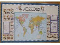 Best 25+ Missions bulletin board ideas on Pinterest   Door ...
