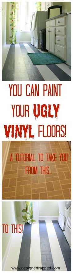 1000+ Ideas About Painted Vinyl Floors On Pinterest | Paint Vinyl