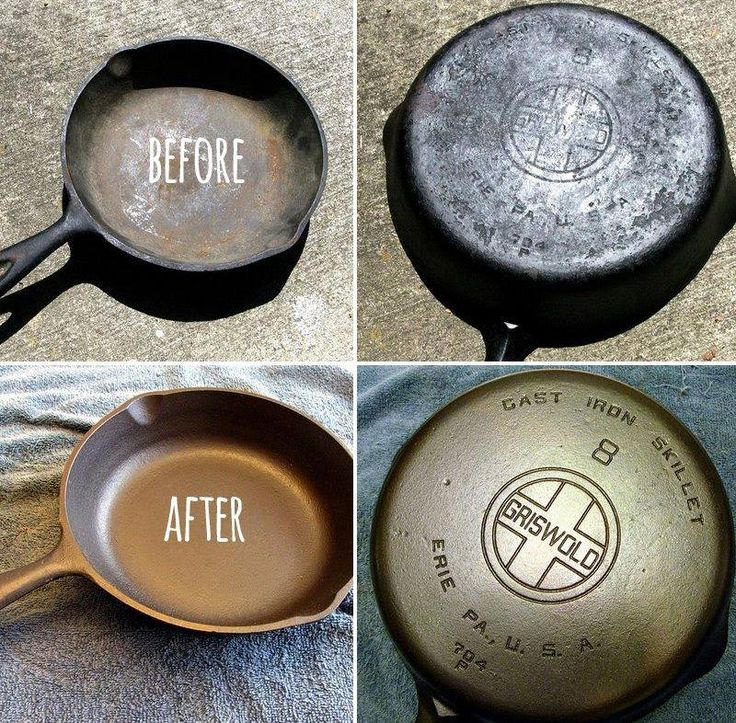 """Got Rust? If Your Cast Iron Cookware Has Gotten """"Ruined"""" With Rust"""