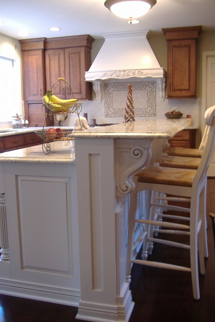wood counter stools countertop stools kitchen Splendid Houzz Kitchen Islands with Corbels and Vintage Wood Counter Stools in White also 2