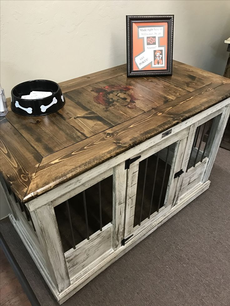 Wooden Dog Crate Furniture
