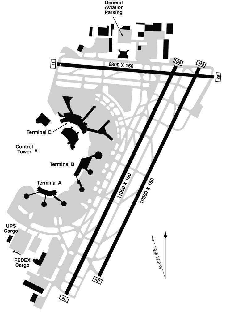 minneapolis airport gate diagram