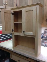 Bathroom Wall Cabinet Building Plans - WoodWorking ...