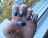 Disney's Frozen manicure. | Nail Art | Pinterest | Disney ...