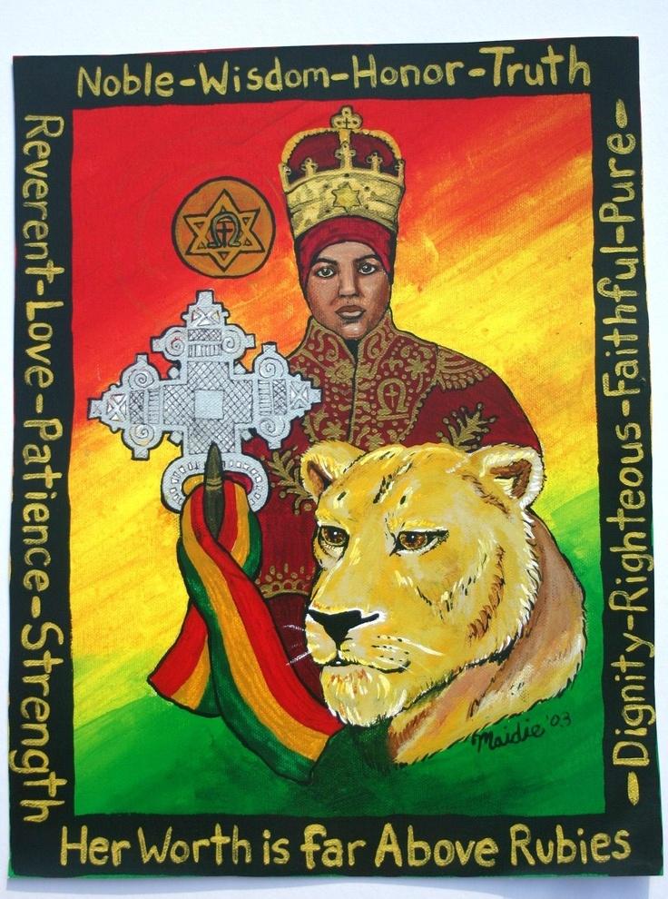Lion Quotes Wallpaper Empress Menen Rastafari Artwork Pinterest