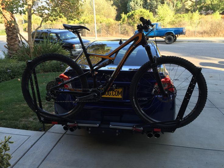 1000 Images About 2016 Wrx Bike Rack On Pinterest