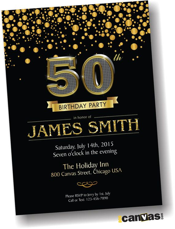 30th 40th 50th 60th 70th 80th Birthday Invitation For By