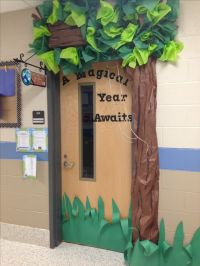 Magic treehouse themed classroom door! | Class Door Ideas ...