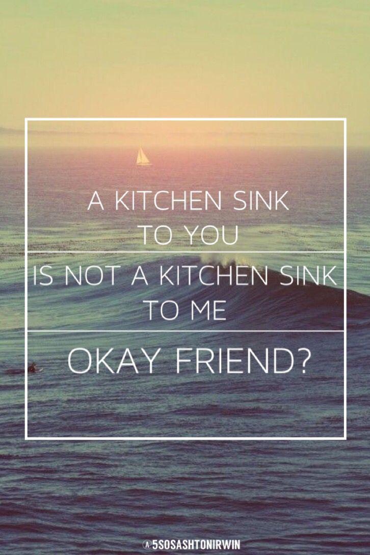 twenty one pilots kitchen sink lyrics This is my favorite lyric Kitchen Sink