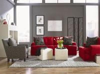 25+ best ideas about Living Room Red on Pinterest