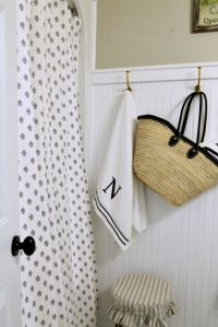 Cottage Style Bathroom Shower Curtains | Curtain ...
