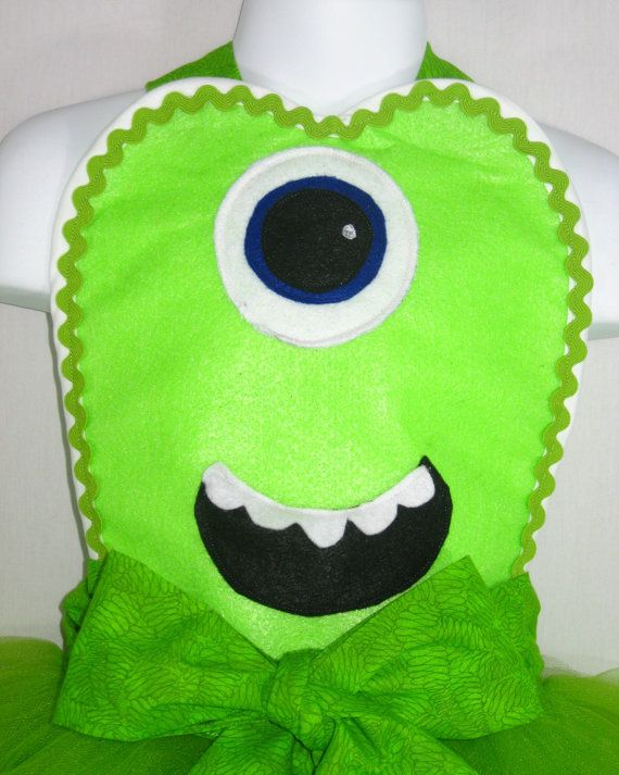 Baby Carrier Glasgow Mike Wazowski Costume Apron By Flirtyandfunaprons On Etsy