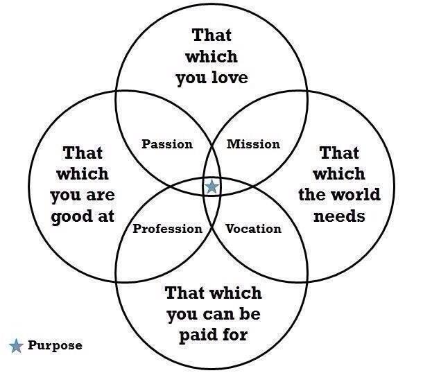 career venn diagram ideas