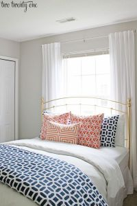 25+ best ideas about Navy coral bedroom on Pinterest ...