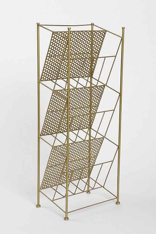 Corner Store Vinyl Record Rack / Urban Outfitters