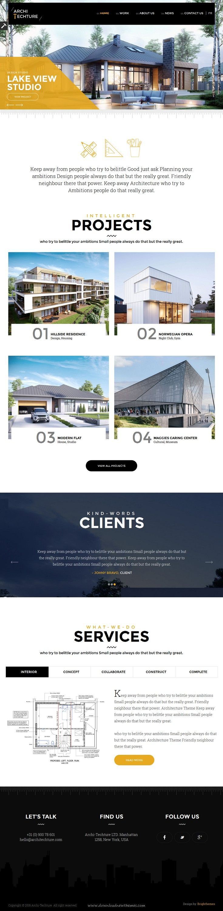 cv designer ux ui theme wordpress