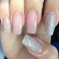 Best 25+ Red glitter nails ideas on Pinterest