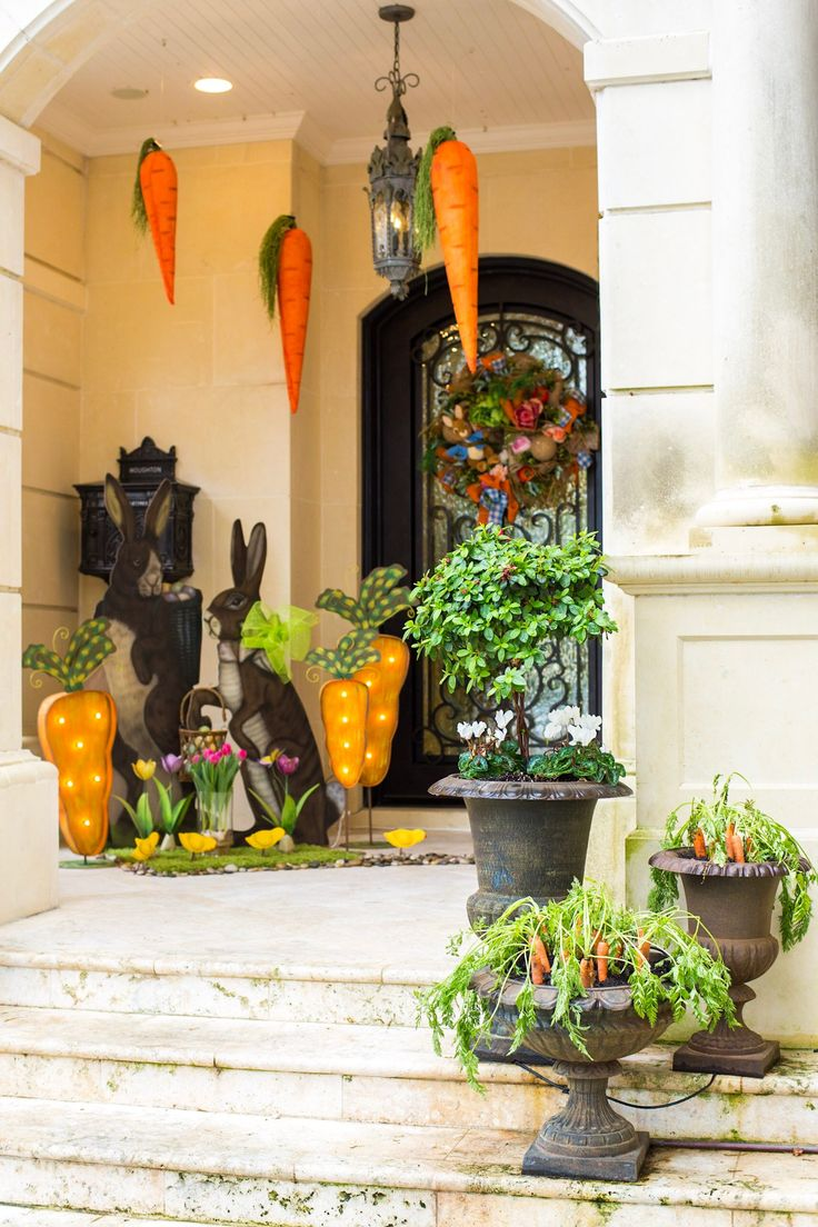 17 Best ideas about Outdoor Easter Decorations on