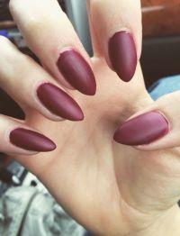 Best 25+ Matte maroon nails ideas only on Pinterest ...