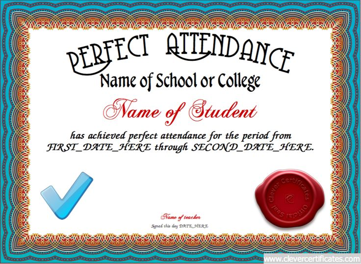 certificate of attendance template free - 28 images - certificate - attendance certificate template