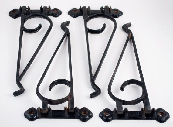 99 Best Images About Bracket Hangers Wrought Iron On