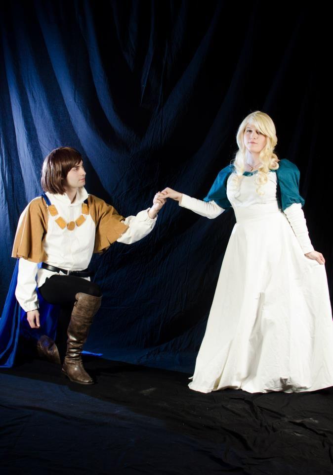 Anime Wallpaper Fairy Tale Derek E Odette The Swan Princess Cosplay By Uminoarashi